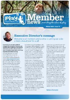 Play Australia Member News Winter 2020