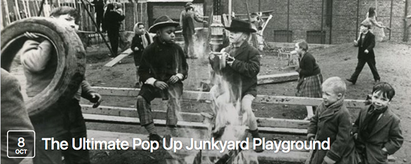 The Ultimate Pop Up Junkyard Playground